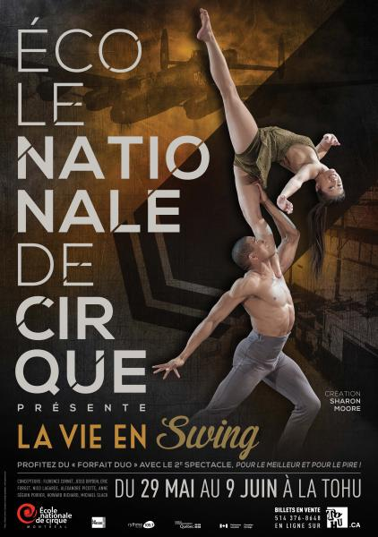 Ecole nationale de cirque - La vie en swing