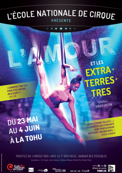 Poster, Annual show, l'amour et les extraterrestres